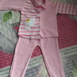 Suit for a girl.