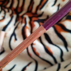 Dudaklar için mor kalem