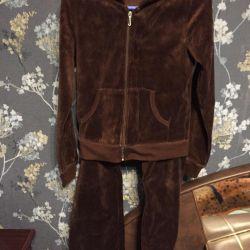 Επίπεδη βελούδο Juicy Couture (ΗΠΑ)