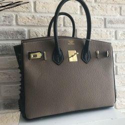 Hermes Birkin bag is studded on the sides