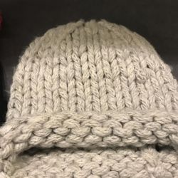Three handmade hats