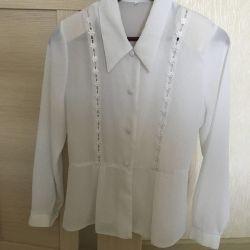 Blouse white 40-42 size
