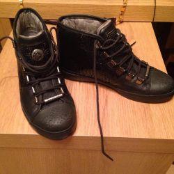 REPLAY women's high sneakers