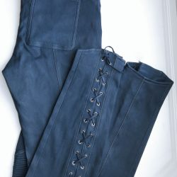 IRFE, original, stretch leather pants, new