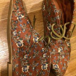 черевики текстильні