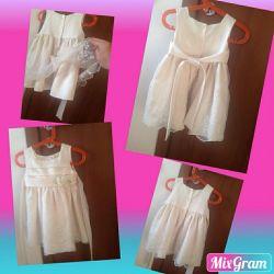 Праздничное платье для маленькой принцессы!)))