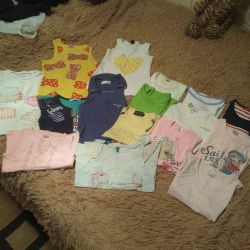 T-shirts of different ages, exchange