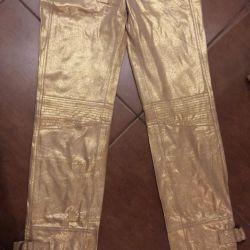 Ems exchange кожаные брюки новые