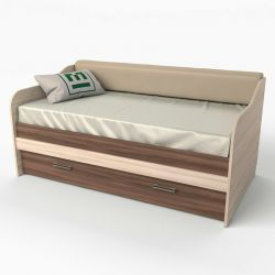 Παιδικό καναπέ κρεβάτι 11 φως τέφρα