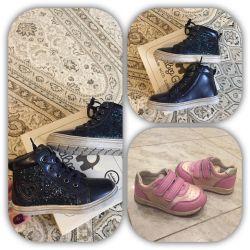 Фирменная обувь на девочку