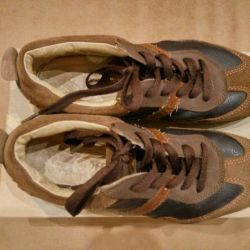 Kotofey sneakers leather on the boy