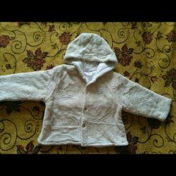 Курточка-толстовка,74