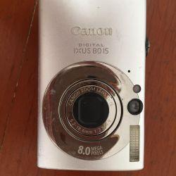 Canon digital ixus80is camera