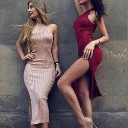 НОВОЕ платье. Цвет бежевый.