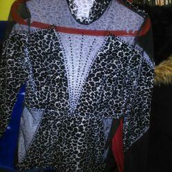 Леопардовый блейзер.