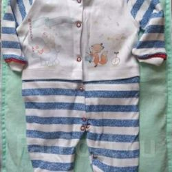 Overalls slip with legs of river 56-62 new