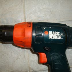 Black decker SL1 3YD screwdriver without charging