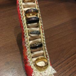 Δαχτυλίδι κοσμήματος μεγέθους 16-16,5