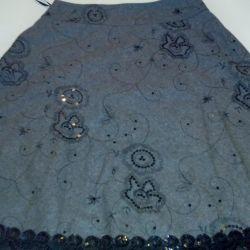 Skirt wool 46 rr