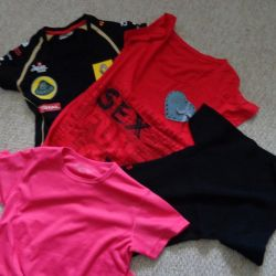 футболки- Lotus, Desigual, Jackpot, SOC 40-42-44