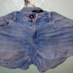 Denim shorts in good condition