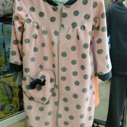 Dressing gown for children (size range 30-36)