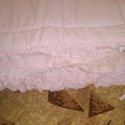 Beds on the crib ... bu