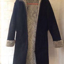 Sheepskin coat artificial p. 44-46