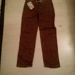 ? Linen trousers