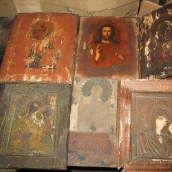 Icons of antique 6pcs