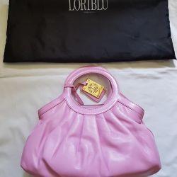 Italian loriblu leather handbag