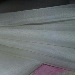 🍒🎀🌹Organza beyaz genişliği 104 cm Kumaş