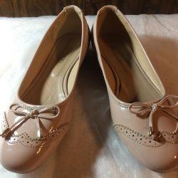 Pantofi de balet pentru femei Derimod