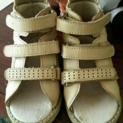 Sandals Orthopedic shoes. 15 cm in the insole.