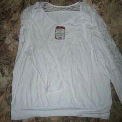 Beyaz bluz 54-56r