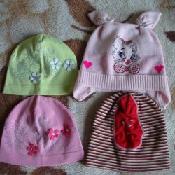 Caps for a girl 5-7 years old