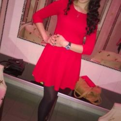Dress red 40-42! Size