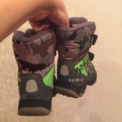 Τεχνολογία χειμερινών μεμβρανών παπουτσιών