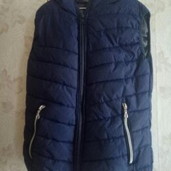 Vest with a hood