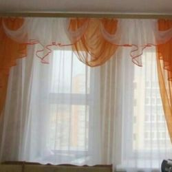 New ready-made curtains
