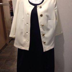 Dress, jacket all new