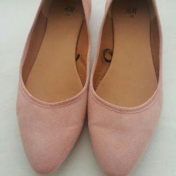 Παπούτσια Μπαλέτου H & M