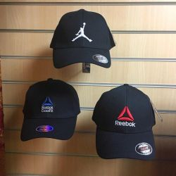 Καπέλα Reebok, Nike Jordan, adidas, unisex, καινούριο