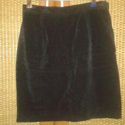 Velvet skirt p. 40-42