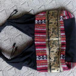 Handbag from Thailand.