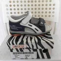Footwear for a boy ZEBRA