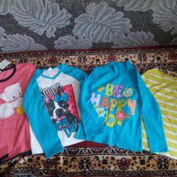 Kız için yeni bluzlar