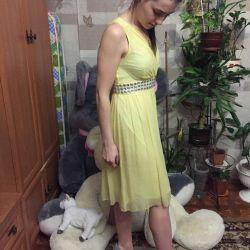 Evening dress handmade
