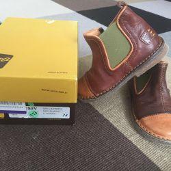 Кожаные итальянские ботиночки Ocra
