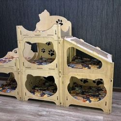 House complex for cats